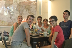 1不久之後 我和角落的義大利情侶在曼谷重逢