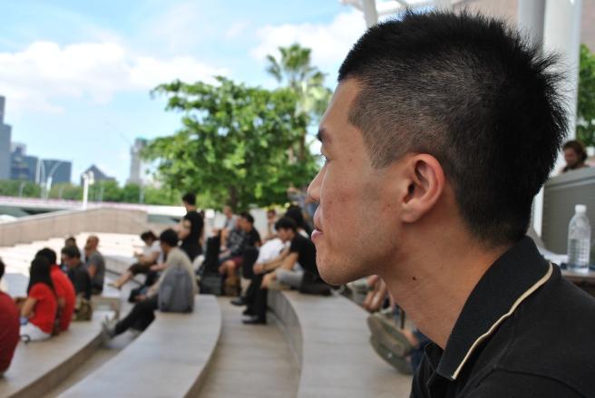 第一章 2前夕 剛到新加坡 心裡有些迷惘